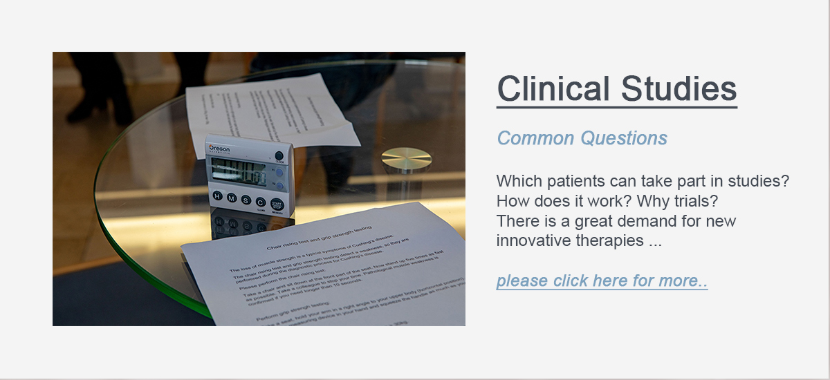 Here should be a button which links to the Clinical Studies of the CRCTRR 205.