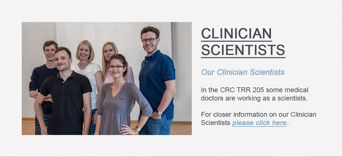 Link Button to the Clinician Scientists of the CRCTRR205