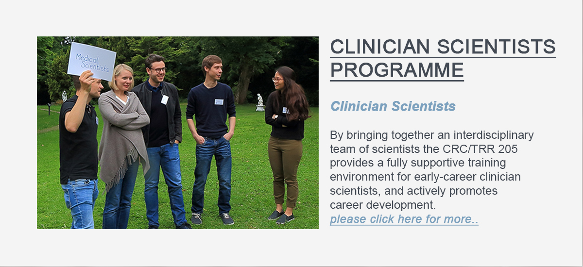 Here is supposed to be the Linkbutton to PROGRAMsite for Clinician Scientists.